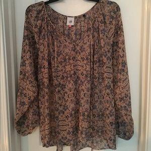 CAbi peasant blouse